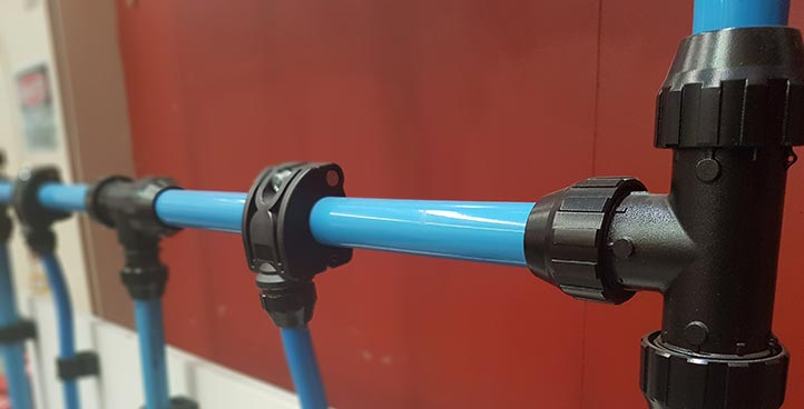 COMPRESSED AIR PIPE SYSTEMS