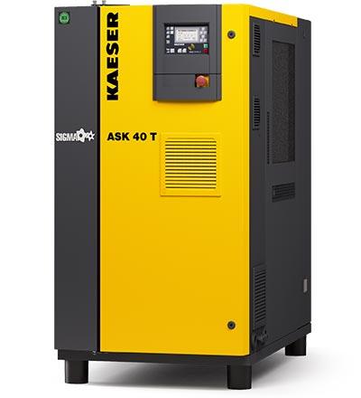 kaeser ask40 rotary screw compressor - plummer compressors