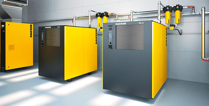 COMPRESSED AIR DRYERS, FILTERS & AIR TREATMENT