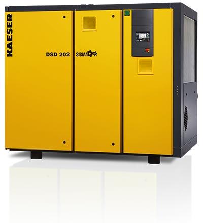 kaeser dsd202 rotary screw compressor - plummer compressors
